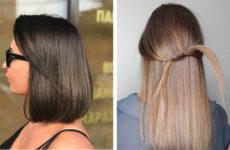 Окрашивание Airtouch: техника для темных и светлых волос