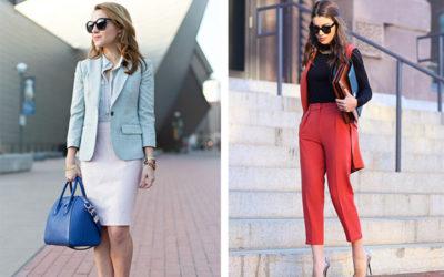 Стильные гардероб для работы: как модно одеться в офис (фото)