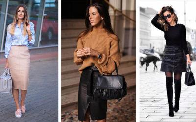 6 способов носить юбку из кожи (ФОТО)