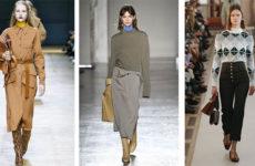 Мода осень зима 2018-2019: основные тенденции