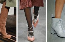 Модная обувь осень-зима 2018/2019 (фото)
