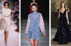 Модные платья осень зима 2018-2019 (фото)