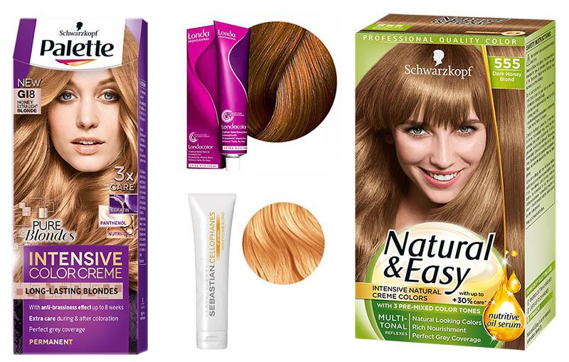 Цвет волос «карамель 25 фото кому идет и палитра красок