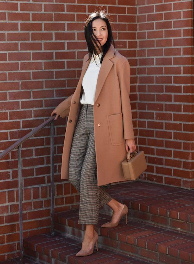 С чем носить брюки в клетку - стильные идеи (фото)