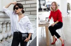 С чем носить черные джинсы — стильные образы (фото)