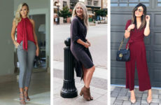 Стильный гардероб для женщины 40 лет (фото)