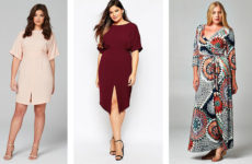 Стильные платья для полных женщин: 5 идеальных фасонов