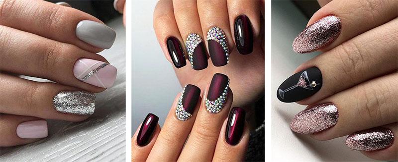 Ногти Марсала Фото Дизайн