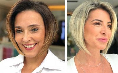 Омолаживающие стрижки для женщин 50 лет
