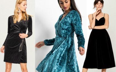 Бархатное платье: как носить наряд из вельвета (фото)