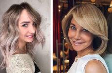 Шатуш на каре: на светлые и темные волосы