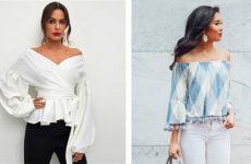 Блузка испанка: супермодный фасон 2019 на все случаи жизни