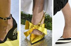 Модная обувь тенденции Весна-Лето 2019