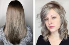Пепельно-русый цвет волос: темный и светлый