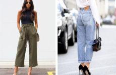 Самые модные штаны 2019: три стильных фасона