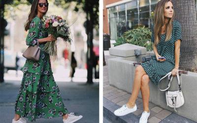 Воздушные платья и спортивная обувь — хит 2019 года