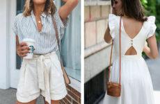 Удобные образы на лето 2019: стильно и женственно