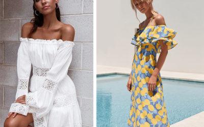 Платье испанка на лето: самые красивые модели