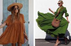 Модные платья в стиле Этно — 44 ярких варианта