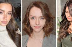 Коричневый цвет волос: модный тренд 2020 года для любого возраста