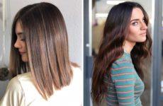Почему все стильные женщины выбирают Шатуш на темные волосы